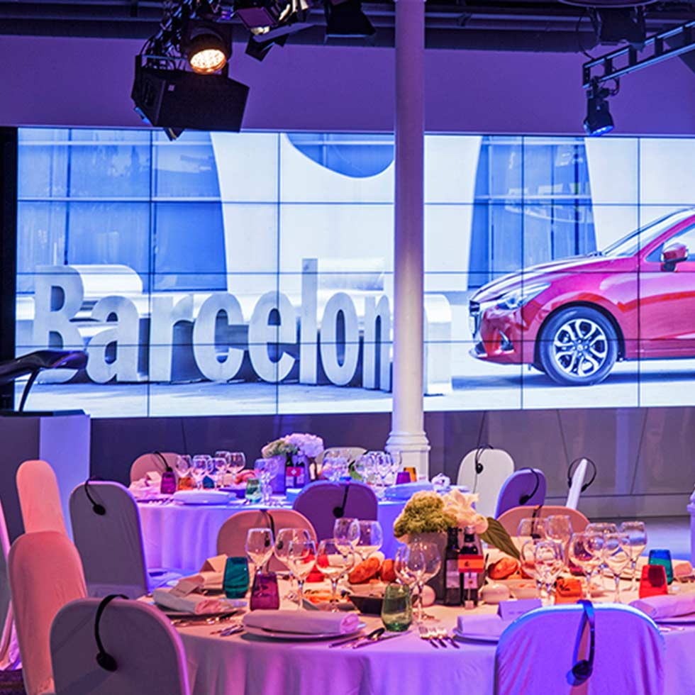 Catering for automotive and special events