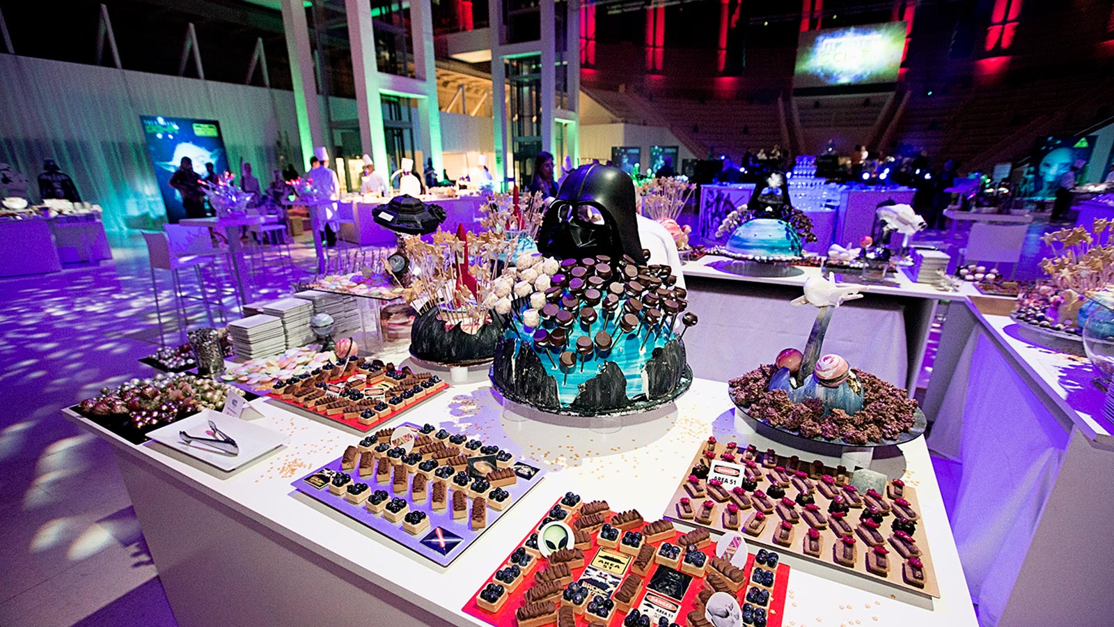 Arts Catering event